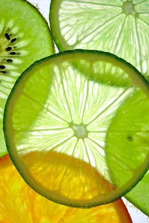 fruit slices Standard-Bild