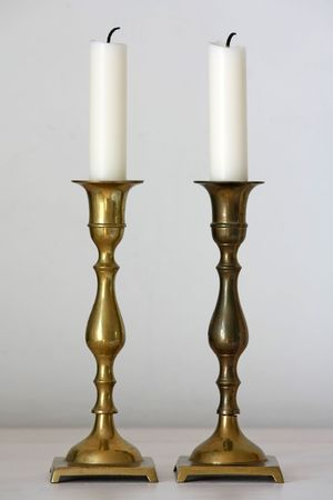 candle holders: portavelas