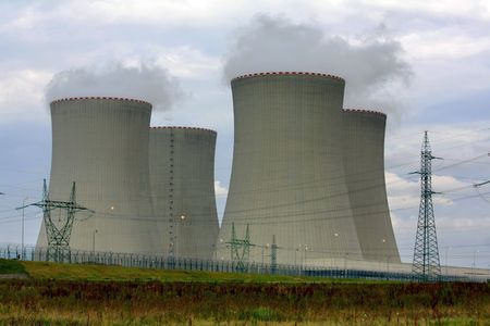 nuclear power plant Stock Photo - 5826419