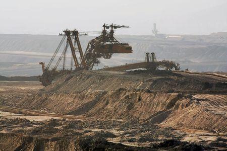 Kohle-mining Lizenzfreie Bilder