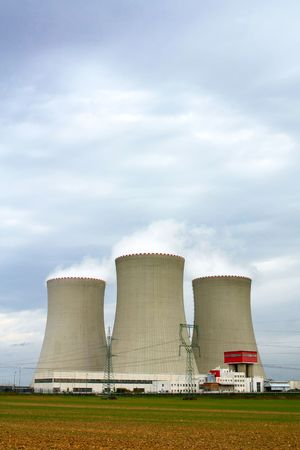 nuclear power plant Stock Photo - 6217892