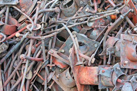metal scrap photo