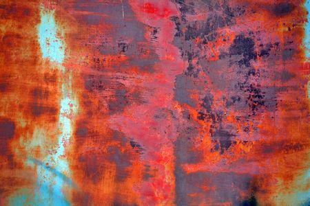 corrosion: rusty grunge background