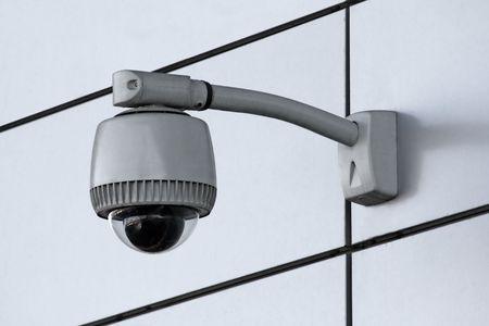 Weitwinkel Sicherheit Kamera Lizenzfreie Bilder