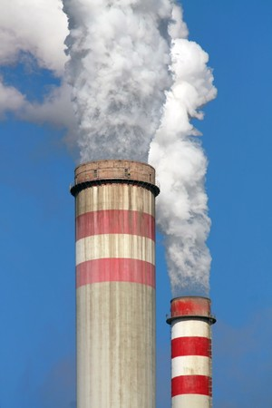 contaminaci�n del aire  Foto de archivo - 6978934