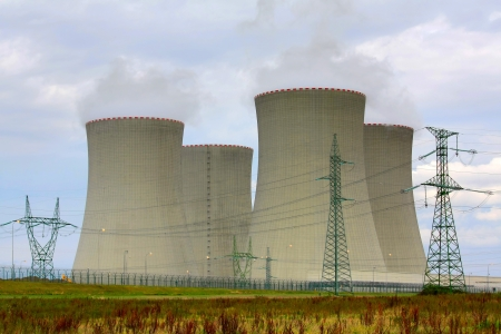 nuclear power plant Stock Photo - 7179140