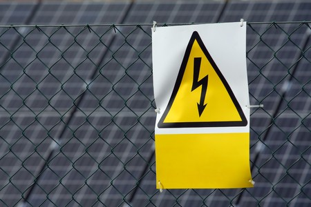 high voltage sign Stock Photo - 7179139