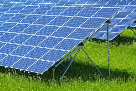 solar power plant: solar power plant