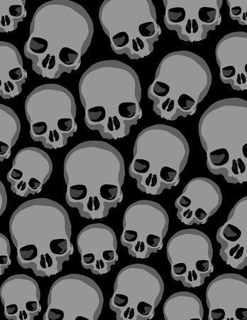 zombies: skulls