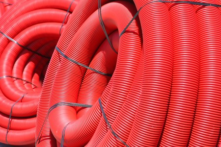 red tube coil Stock Photo - 8024508