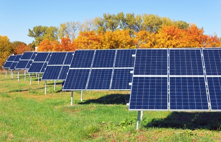 photovoltaic power station: solar power plant
