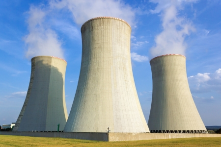 Nuclear power plant, Dukovany, Czech Republic Stock Photo - 14411039