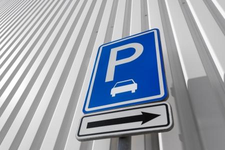 parking sign: parking sign