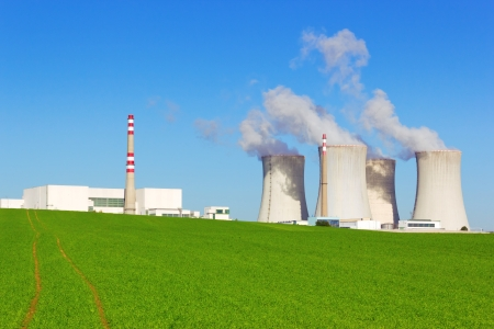 cooling towers: Nuclear power plant, Dukovany, Czech Republic