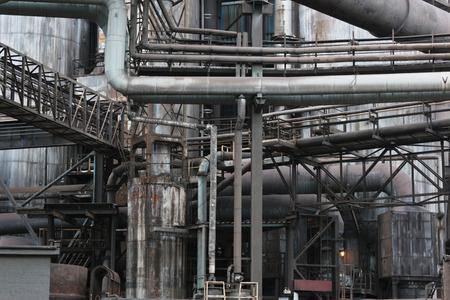 work area: Steelworks
