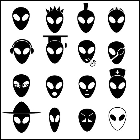 roswell: alien icons