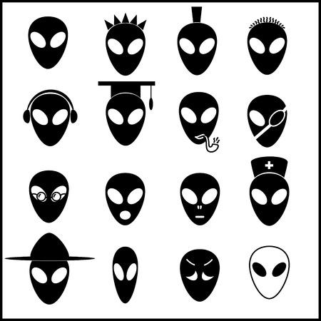 stranger: alien icons
