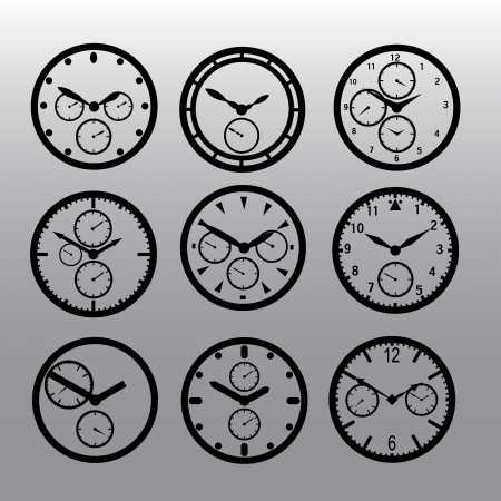 chronograph: chronograph watch dials