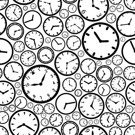 time  clock: watch dial pattern  Illustration