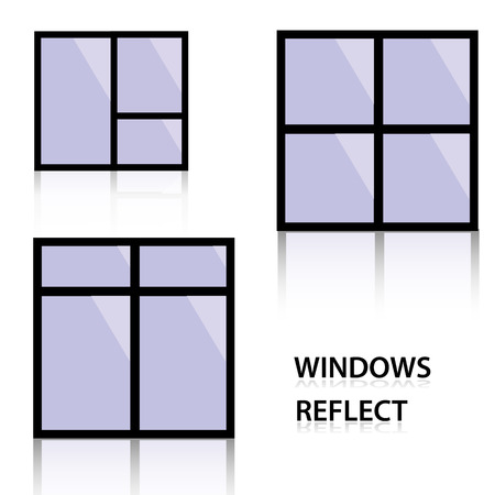 reflect: windows reflect eps10