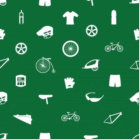 cycling icon pattern