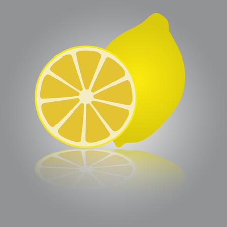 limon: colorful lemon eps10