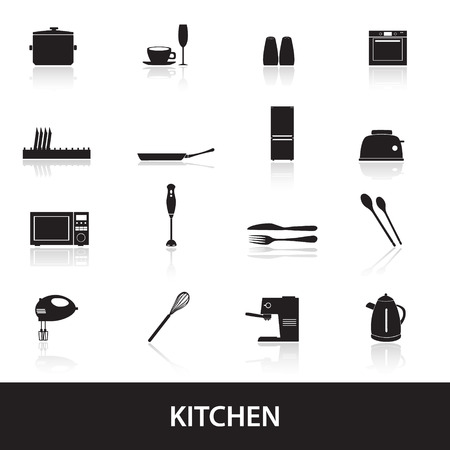 home kitchen icon Vector