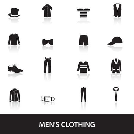 waistband: mens black clothing