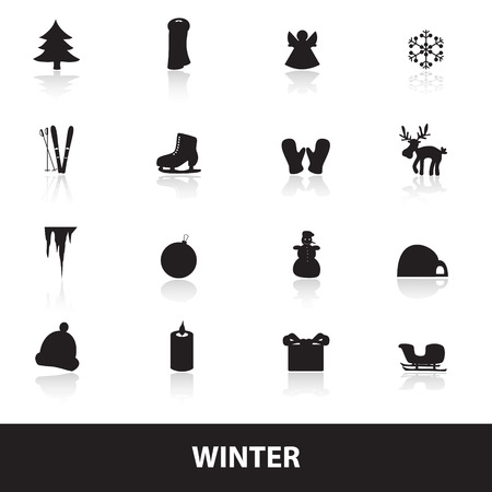 igloo: winter icons