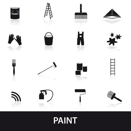 페인트 아이콘을 설정
