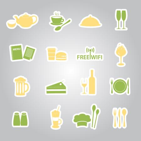 salt free: restaurant and pub stickers