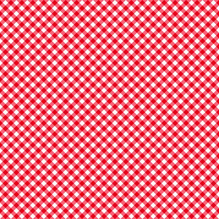 체크 무늬 빨간색과 흰색 추상 원활한 패턴 eps10 일러스트