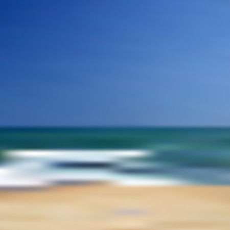 unfocused: abstract blurred unfocused beach vector background eps10