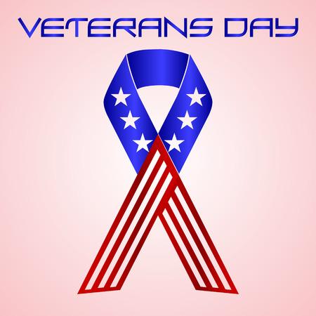 americal 색상 EPS10 미국 재향 군인의 날 축하