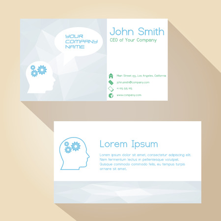 color white: color de la luz blanca tarjeta de visita simple del dise�o eps10