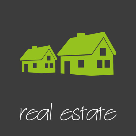 commercial real estate: real estate commercial design banner and background eps10