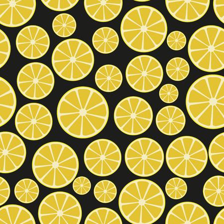 sliced: coloridas frutas en rodajas de lim�n sin patr�n