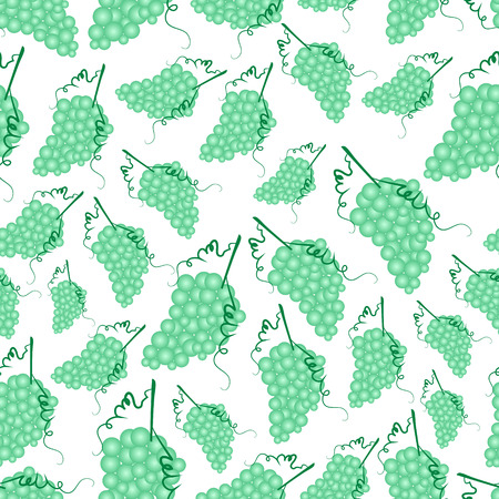 wallop: grapes wine fruit summer seamless pattern eps10