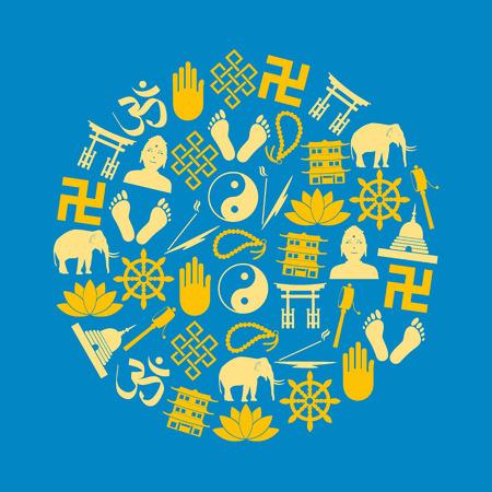 sociedade: budismo religi