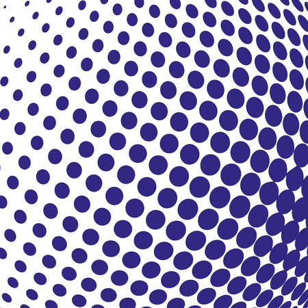 blue sphere: blue color halftone sphere abstract design background