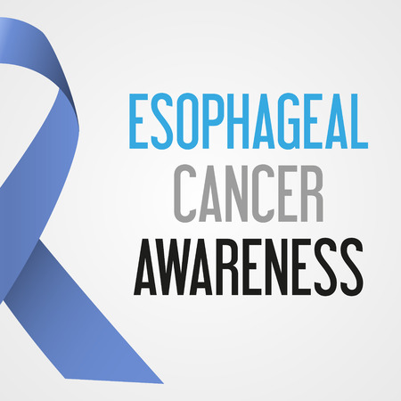 esophageal: world esophageal cancer day awareness poster eps10