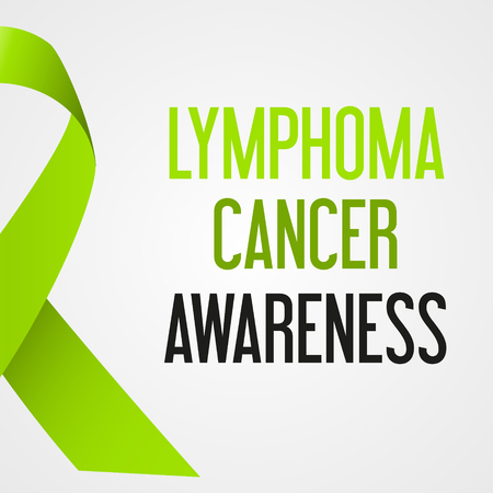 Conciencia del día del cáncer del linfoma del eps10 Foto de archivo - 79268627