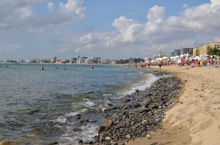 beach and seashore bulgaria summer landscape photo