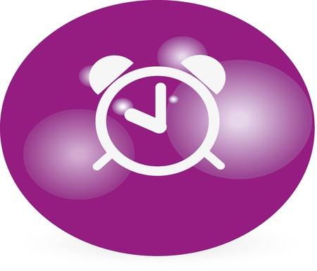 isoliert: alarm clock