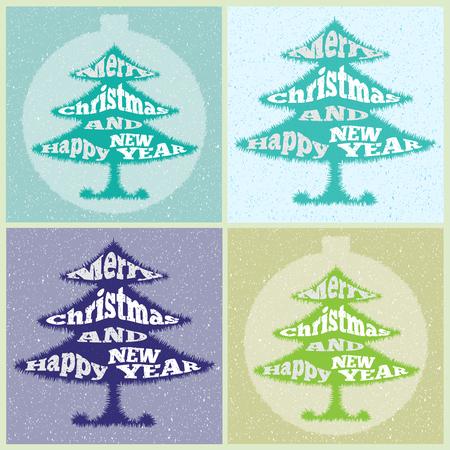 christmas tree illustration: Christmas tree. illustration. Illustration