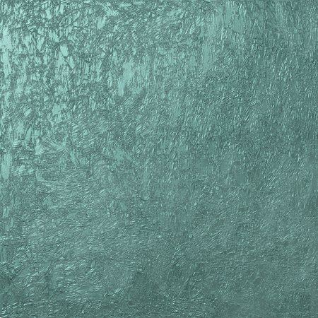 Green foil. Backround or texture. Stock Photo