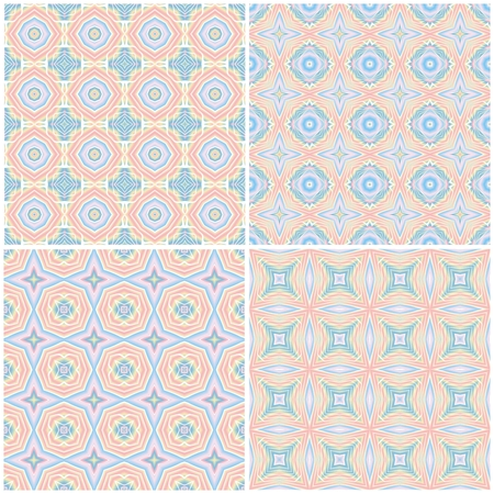yelow: Set of abstract seamless background pattern for wallpaper.