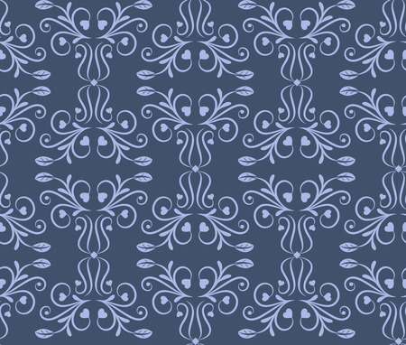 hinge: Damask floral ornament. Seamless pattern. Vintage. Luxury texture for wallpapers and backgrounds. Vector illustration.