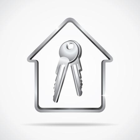 key in chain: Home keys