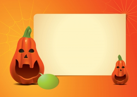 Pumpkin Invitation Long photo